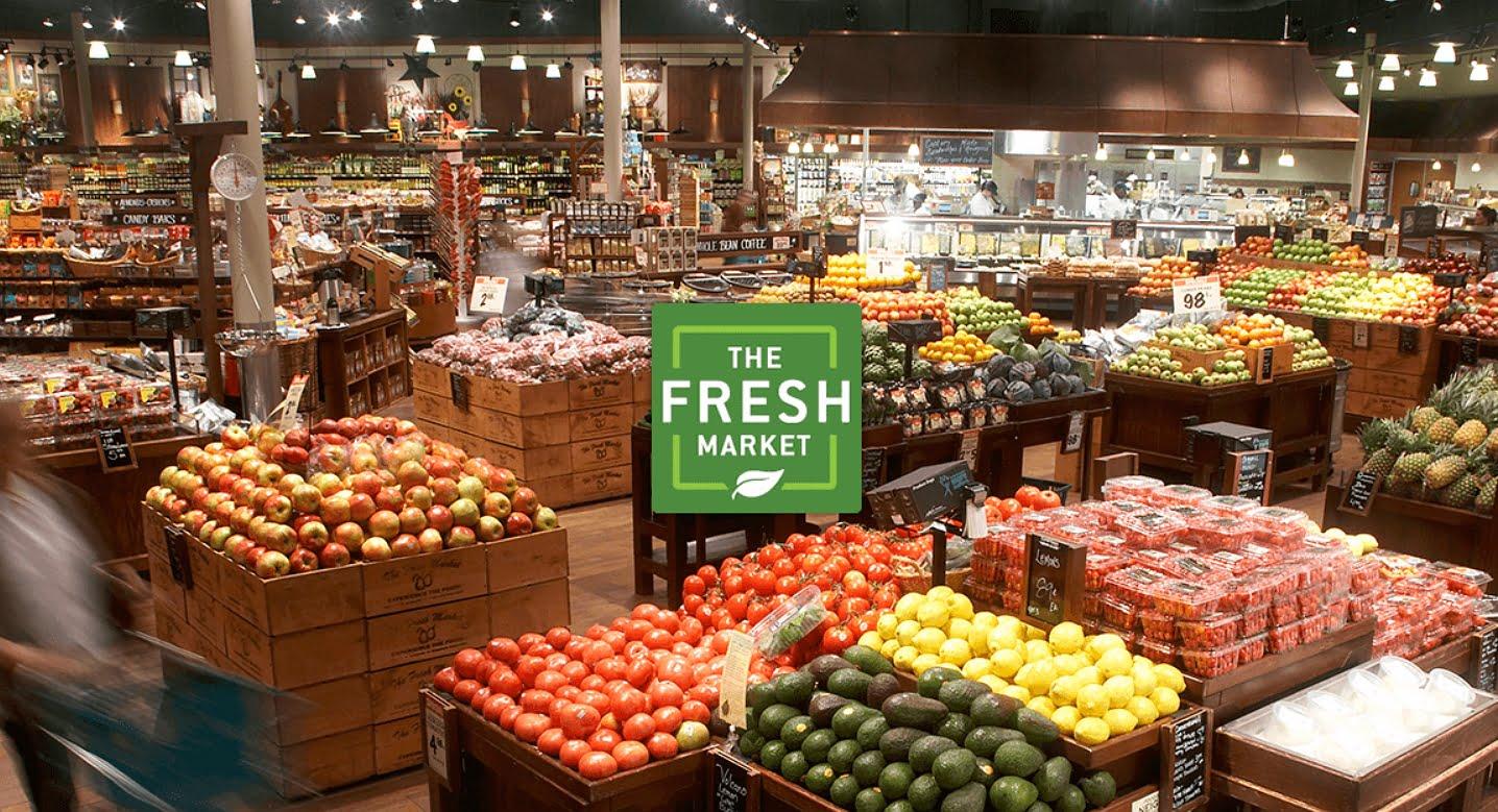 inside the fresh market store
