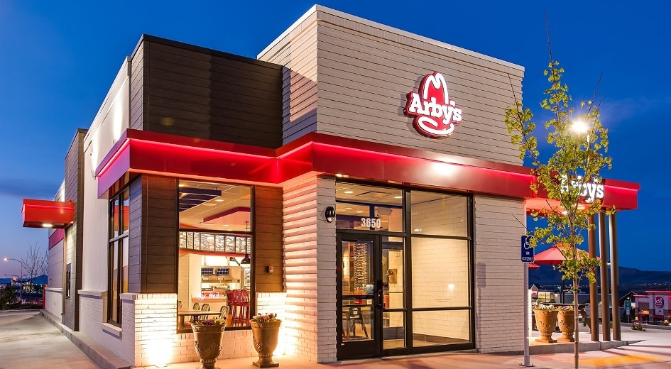 outlook of arby's restaurant