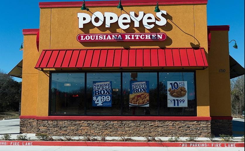 Popeyes kitchen restaurant