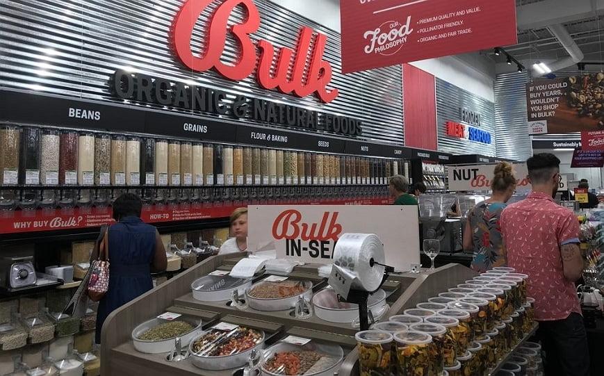 inside the earth fare supermarket